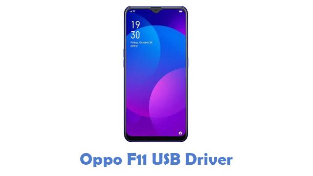 Oppo F11 USB Driver