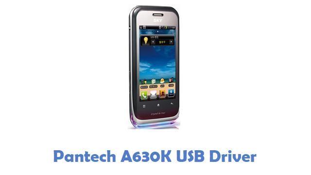 Pantech A630K USB Driver