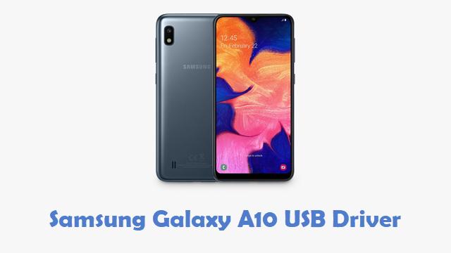 Samsung Galaxy A10 USB Driver