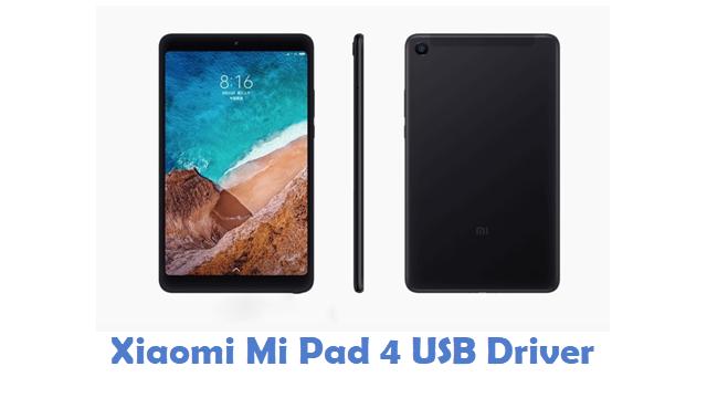 Xiaomi Mi Pad 4 USB Driver