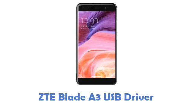 ZTE Blade A3 USB Driver