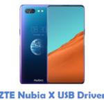 ZTE Nubia X USB Driver