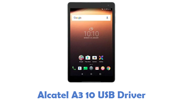 Alcatel A3 10 USB Driver