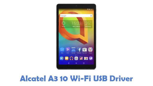 Alcatel A3 10 Wi-Fi USB Driver