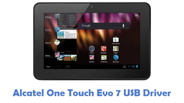 Alcatel One Touch Evo 7 USB Driver