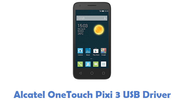 Alcatel OneTouch Pixi 3 USB Driver