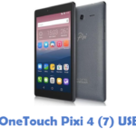 Alcatel OneTouch Pixi 4 7 USB Driver