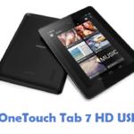 Alcatel OneTouch Tab 7 HD USB Driver