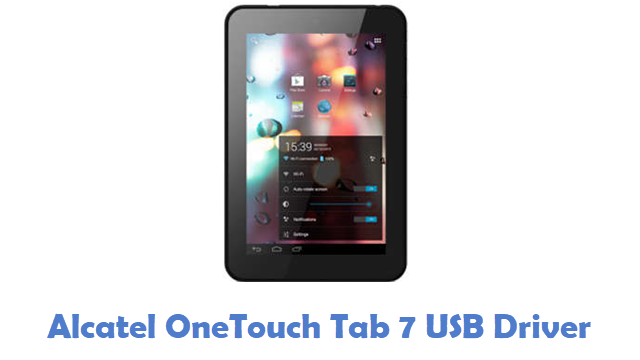 Alcatel OneTouch Tab 7 USB Driver