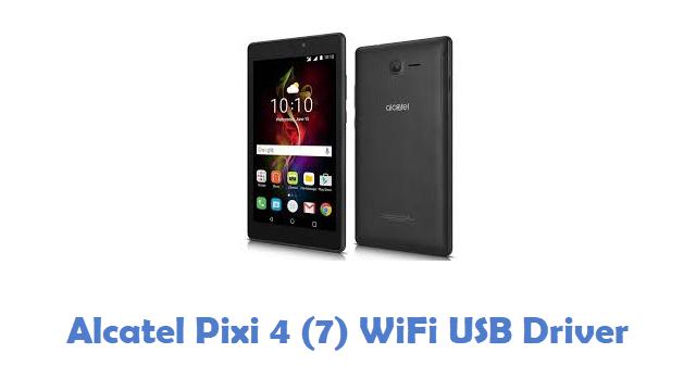 Alcatel Pixi 4 (7) WiFi USB Driver