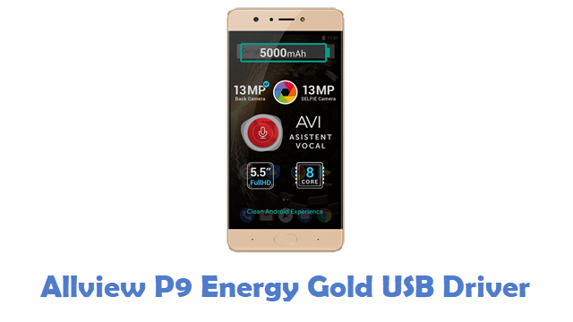 Allview P9 Energy Gold USB Driver