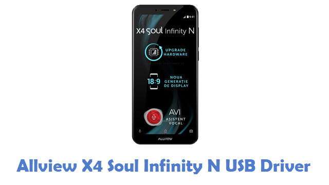 Allview X4 Soul Infinity N USB Driver