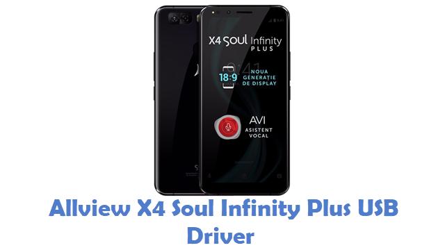 Allview X4 Soul Infinity Plus USB Driver
