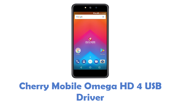 Cherry Mobile Omega HD 4 USB Driver