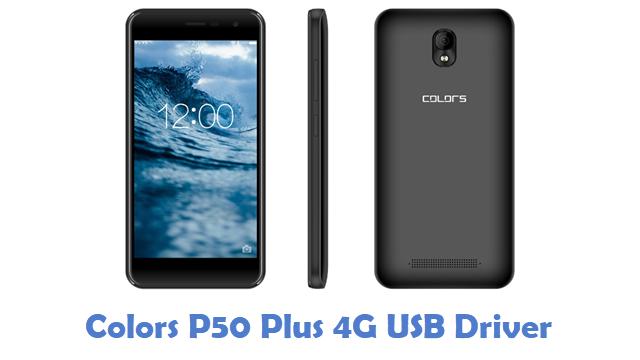 Colors P50 Plus 4G USB Driver