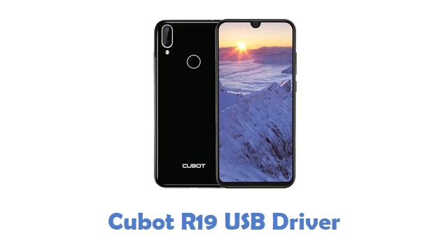 Cubot R19 USB Driver