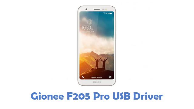 Gionee F205 Pro USB Driver