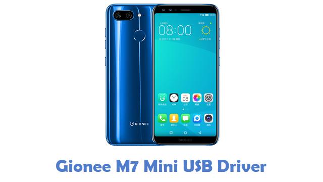 Gionee M7 Mini USB Driver