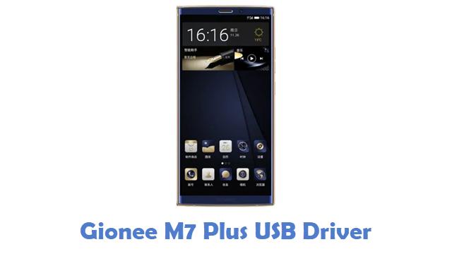 Gionee M7 Plus USB Driver