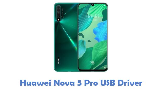 Huawei Nova 5 Pro USB Driver