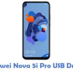 Huawei Nova 5i Pro USB Driver