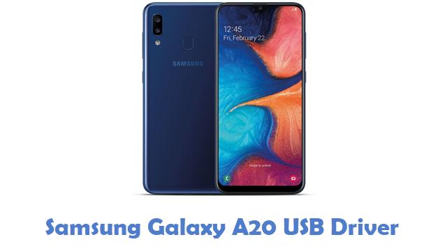 Samsung Galaxy A20 USB Driver