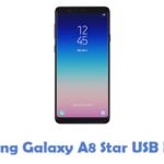 Samsung Galaxy A8 Star USB Driver