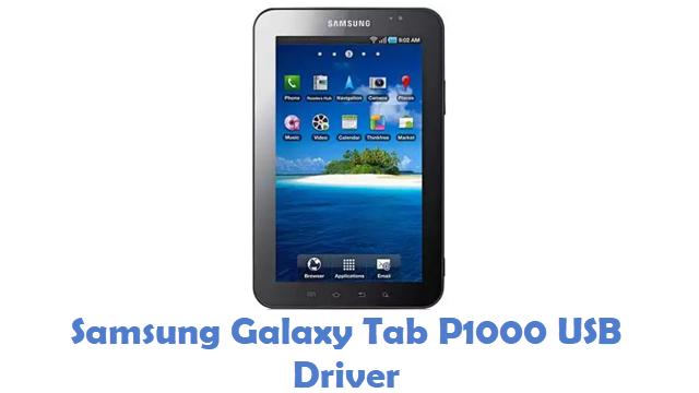 Samsung Galaxy Tab P1000 USB Driver