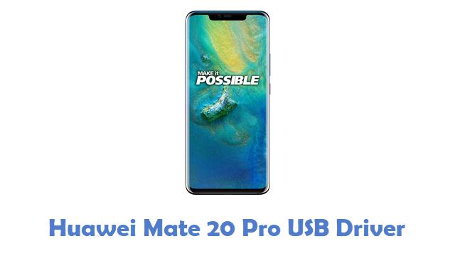 Huawei Mate 20 Pro USB Driver