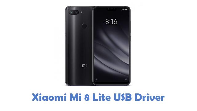 Xiaomi Mi 8 Lite USB Driver