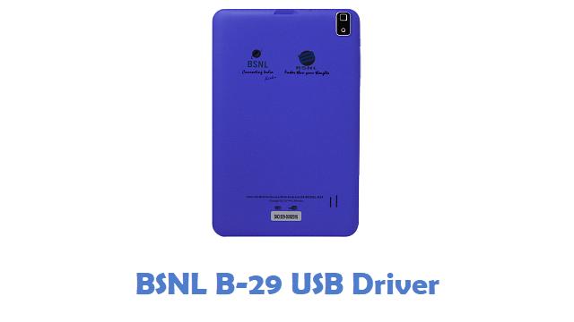 BSNL B-29 USB Driver