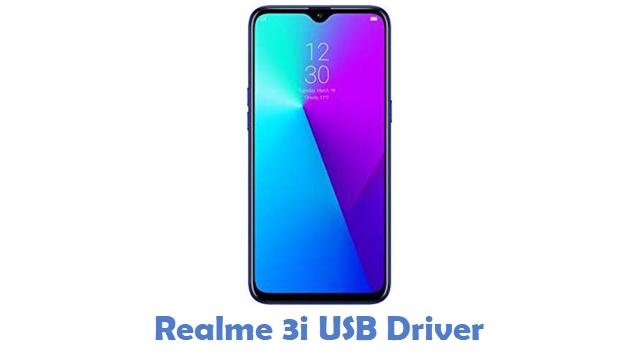 Realme 3i USB Driver