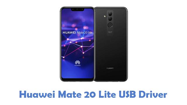 Huawei Mate 20 Lite USB Driver