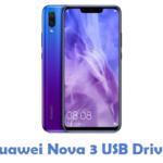 Huawei Nova 3 USB Driver