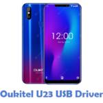 Oukitel U23 USB Driver