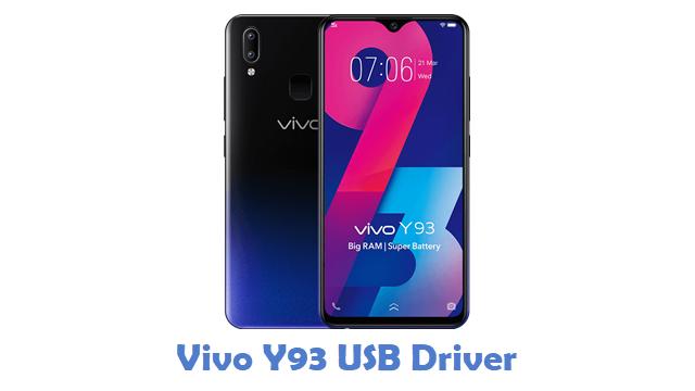 Vivo Y93 USB Driver