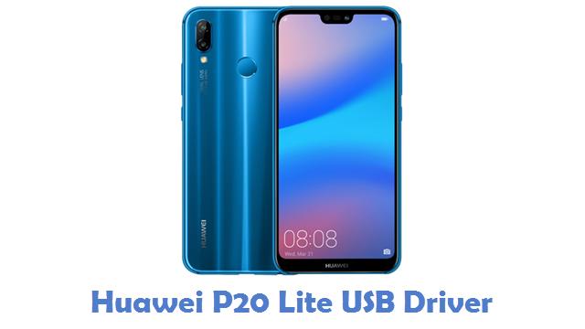 Huawei P20 Lite USB Driver