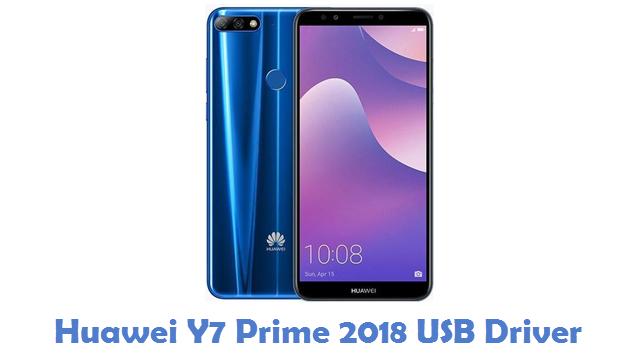 Huawei Y7 Prime 2018 USB Driver