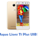 Intex Aqua Lions T1 Plus USB Driver