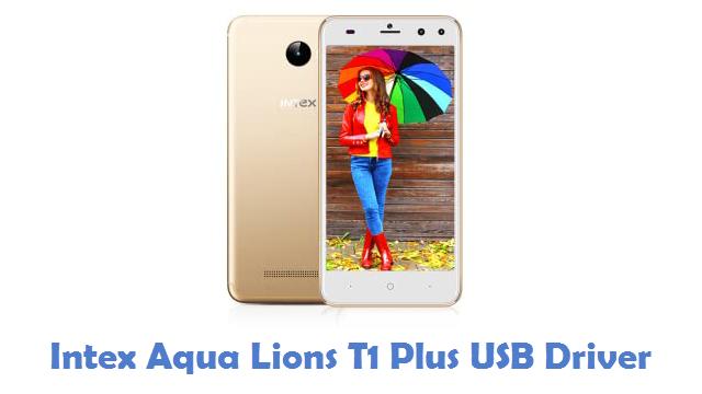Intex Aqua Lions T1 Plus USB Driver