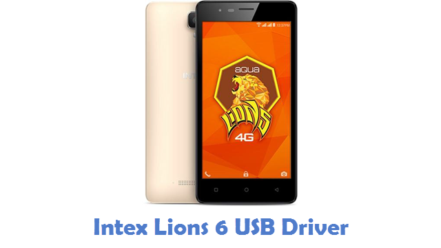 Intex Lions 6 USB Driver