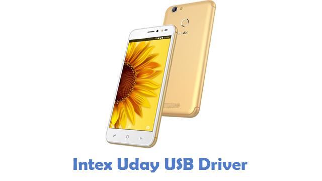 Intex Uday USB Driver