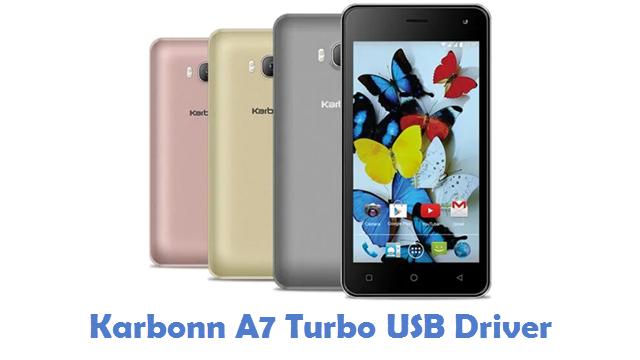 Karbonn A7 Turbo USB Driver