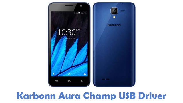 Karbonn Aura Champ USB Driver