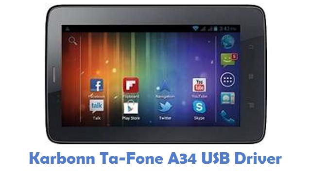Karbonn Ta-Fone A34 USB Driver