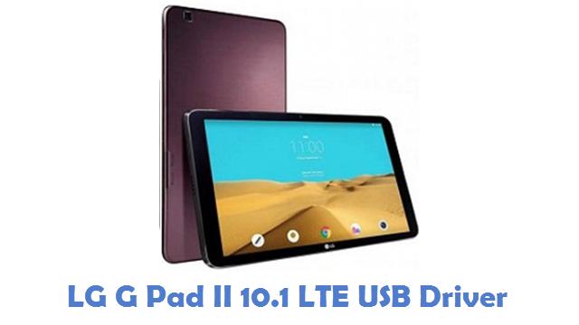 LG G Pad II 10.1 LTE USB Driver