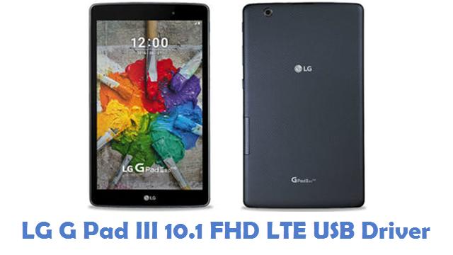 LG G Pad III 10.1 FHD LTE USB Driver