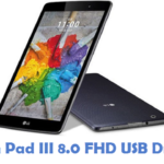 LG G Pad III 8.0 FHD USB Driver