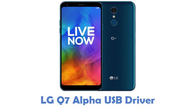 LG Q7 Alpha USB Driver