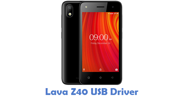 Lava Z40 USB Driver